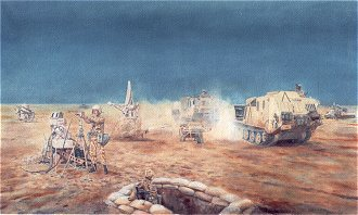 12 Air Defence Royal Artillery in the Gulf War 1990-91 by David Rowlands. (GS)