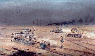 21 Engineer Regiment by David Rowlands. (Y)