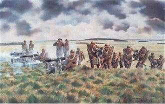 Vickers Machine-Gunners Training by David Rowlands (GL)