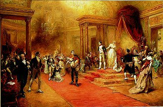 The Disaster at the Ball Given by the Austrian Embassy in Paris 1810 by Robert Hillingford (GS)