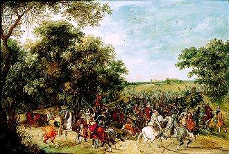 The Battle of Lekkerbeetje by the Studio of Sebastien Vranx (GL)
