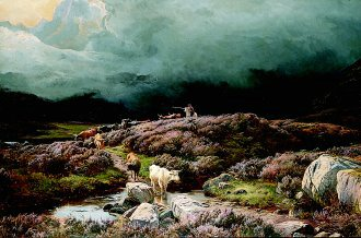 Glen Sannox, Arran by Richard Sidney Percy (GS)