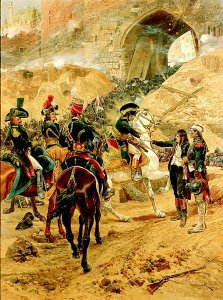 Bonaparte and the Survivors of the Forlorn Hope at St Jean by Richard Caton Woodville (GL)