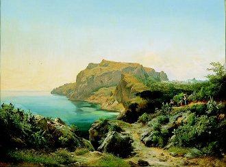 A View of Capri by Carl Marko. (GL)