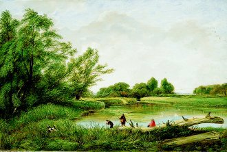 A Summers Day by Hopkins Horsley. (GL)