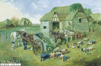 The Turnip Cart by John frederick Herring Jnr (GL)