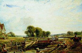 Near Henley on Thames by William W Gosling. (GL)