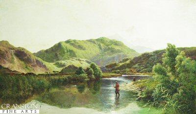 On The River Glaslyn, North Wales by Henry John Boddington 1811 - 1865 (GL)