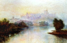 Windsor Castle Morning by Richard Elsmore. (GL)