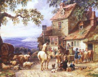 A Village tavern by Dean Wolstenholme. (GS)