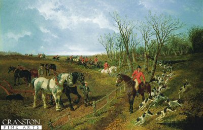 A Good Day with the Hunt by John Frederick Herring (GS)
