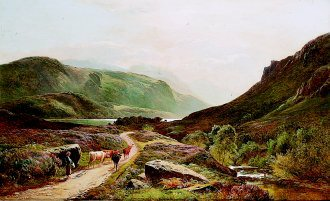 Loch Long by Richard Sidney Percy. (GL)