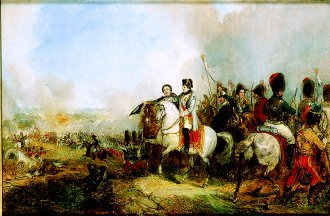 Napoleon at the Battle of Waterloo by George Jones. (GS)