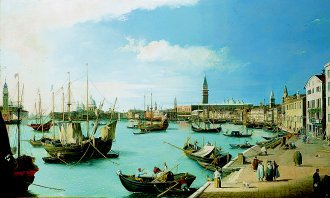 The Entrance to the Grand Canal, Venice by William James. (GL)