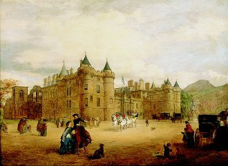 Holyrood, 1859 by George Washington Brownlow. (GL)
