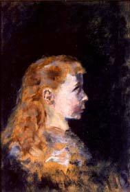 Portrait d un Enfent, 1882 by Henri De Toulouse-Lautrec. (GS)