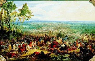 An Episode From the War Against the Turks by Adam Frans van der Meulen (GL)