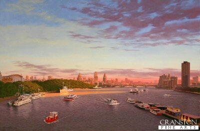 View from Waterloo Bridge by Graeme Lothian. (GS)