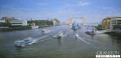 The View East from London Bridge by Graeme Lothian.