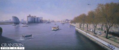City Hall - London Marathon 2003 by Graeme Lothian.