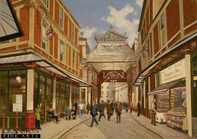Leadenhall Market by Graeme Lothian. (GS)