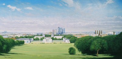 Greenwich - Isle of Dogs by Graeme Lothian. (GS)