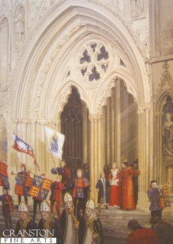 Investiture in York by Graham Turner