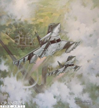 Typhoon Scramble by Michael Turner.