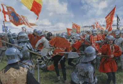 foreign support henry tudor bosworth [iv] this added foreign support to simnel's cause, and it was probably  when  henry vii killed richard iii at the battle of bosworth, he had the.