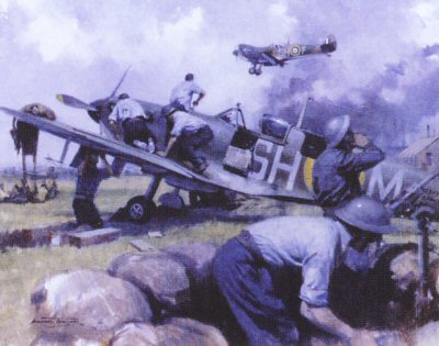 Battle of Britain by Michael Turner