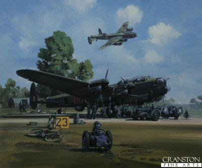 Lancaster Dispersal by Michael Turner.