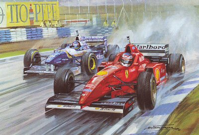 1996 Spanish Grand Prix by Michael Turner