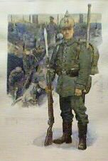 Pioneer Battalion No.14, 1914�by Gordon Wilson.