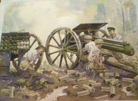 Royal Horse Artillery, World War One by Gordon Wilson (P)