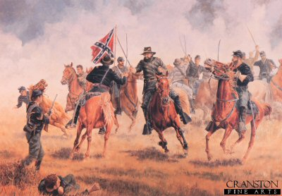 Hamptons Charge at Brandy Station by Clyde Heron.