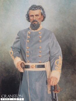 Lieutenant General  Nathan Bedford Forrest by Clyde Heron.