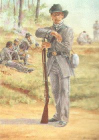 Tom Green rifles - the 4th Texas by Clyde Heron.