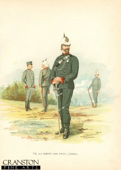 The 2nd Queens Own Rifles (Canada) by H Bunnett (P)
