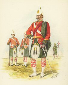 The 5th Royal Scots (Canada) by H Bunnett (P)