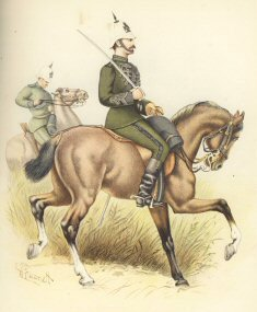 The Cape Mounted Rifles by H Bunnett (P)