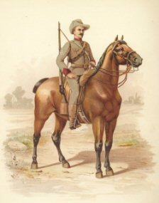 Victorian Mounted Rifles by H Bunnett (P)