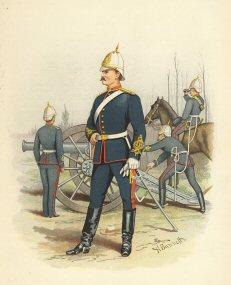 Victorian Artillery by H Bunnett (P)