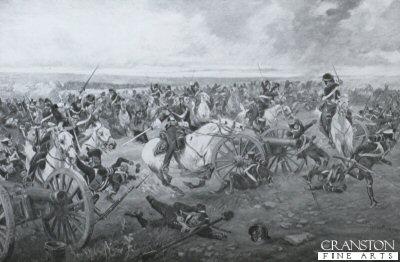 Battle of Waterloo, 1815 by Henry Dupray.