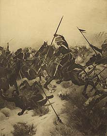 Battle of Ulundi, 1879 by Henry Dupray