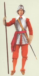 Pikeman 1660 by P H Smitherman
