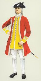 Officer, 6th Foot 1735 by P H Smitherman