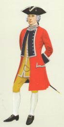 Officer, 21st Foot, 1751 by P H Smitherman