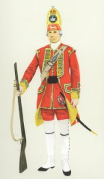 Grenadier, 27th Foot 1751 by P H Smitherman