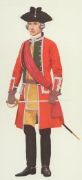 Officer, 24th Foot 1755 by P H Smitherman