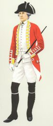Sergeant Major, 25th Foot 1768 by P H Smitherman